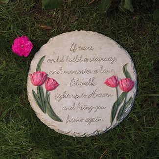 Evergreen-Flag--Garden-Memorial-Stepping-Stone